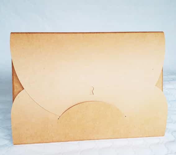 Pochette de rangement pour kamishibaï